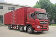 重汽斯太尔国四前四后四厢式运输车239-280马力5-10吨(ZZ5203XXYM56CGD1)