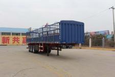 通亚达牌CTY9360CCY型仓栅式运输半挂车图片