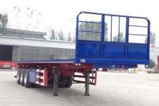 腾运12米31.7吨3轴平板自卸半挂车(LLT9401ZZXP)