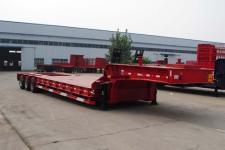 麟州13.6米26.5吨6轴低平板半挂车(YDZ9403TDP)