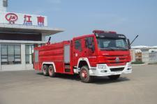 江特牌JDF5313GXFPM160型泡沫消防车