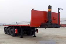 东风8.4米32.8吨3轴平板自卸半挂车(EQ9401ZZXPT)
