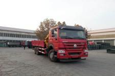 圆易牌JHL5257JSQM52ZZ型随车起重运输车图片