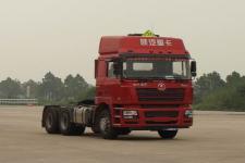陕汽后双桥,后八轮危险品牵引车375马力(SX4256NV324W)