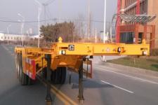 广燕牌LGY9400TJZ型集装箱运输半挂车