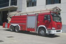 中卓时代牌ZXF5320JXFJP26型举高喷射消防车