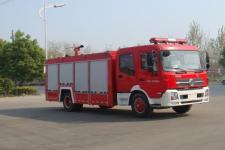 江特牌JDF5161GXFSG70/B型水罐消防车