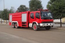 江特牌JDF5252GXFPM110型泡沫消防车