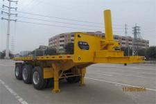 汇联牌HLC9330ZZXP型平板自卸半挂车