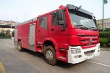 天河牌LLX5204GXFAP80/H型A类泡沫消防车图片