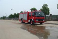 江特牌JDF5152GXFSG60/A型水罐消防车