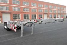 路斯牌MBS9400TJZLH型铝合金集装箱运输半挂车图片