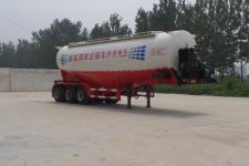 坤博10.7米30.3吨3轴中密度粉粒物料运输半挂车(LKB9400GFL)