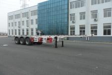 黄海12.4米34.8吨3轴高压气体长管骨架半挂车(DD9400TGY)