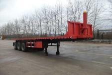 吉鲁恒驰10.5米31.5吨3轴平板自卸半挂车(PG9406ZZXP)
