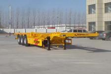 坤博12.5米33.7吨3轴集装箱运输半挂车(LKB9402TJZE)