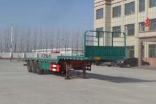 坤博12米33.5吨3轴平板式运输半挂车(LKB9402TPBE)