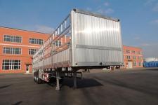 路斯牌MBS9400CCYLH型铝合金仓栅式运输半挂车图片