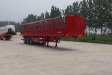 坤博12米33.5吨3轴仓栅式运输半挂车(LKB9400CCY)