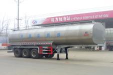 程力威牌CLW9402GNY型鲜奶运输半挂车图片