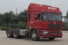 陕汽后双桥,后八轮牵引车375马力(SX4256NV324)