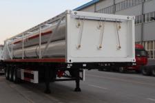 安瑞科(ENRIC)牌HGJ9404GGY型液压子站高压气体长管半挂车