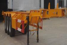 龙亿达12.5米34.3吨3轴集装箱运输半挂车(CYL9402TJZ)
