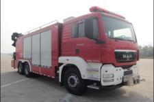 上格牌SGX5210TXFJY100/M型抢险救援消防车