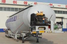 龙亿达12.5米28吨3轴低密度粉粒物料运输半挂车(CYL9402GFL)