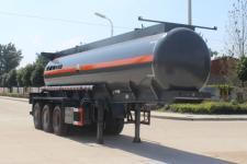 润知星10.1米31吨3轴腐蚀性物品罐式运输半挂车(SCS9402GFW)