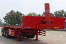 龙亿达8米32.8吨3轴平板自卸半挂车(CYL9400ZZXP)