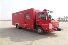 上格牌SGX5080XXFQC50/QL型器材消防车