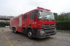 金盛盾牌JDX5320GXFPM160/B型泡沫消防车
