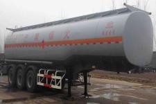 荣沃牌QW9405GYY型运油半挂车