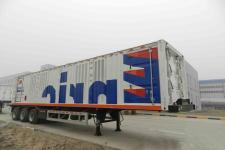 安瑞科(ENRIC)牌HGJ9381GRQ型易燃气体罐式运输半挂车