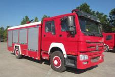 汉江牌HXF5200GXFPM80型泡沫消防车