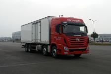 四川现代国四前四后八厢式运输车360-441马力15-20吨(CHM5310XXYKPQ80M)