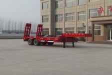 坤博9.5米26.2吨2轴低平板半挂车(LKB9351TDP)
