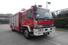 捷达消防牌SJD5170GXFAP50/WSA型A类泡沫消防车图片