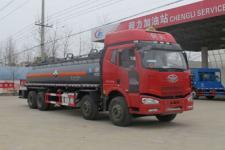CLW5315GFWC4型程力威牌腐蚀性物品罐式运输车图片