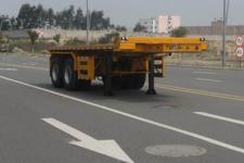 常春宇创牌FCC9353ZZXP型平板自卸半挂车