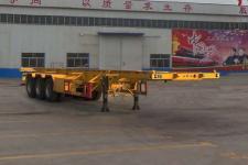梁郓牌SLY9400TJZ型集装箱运输半挂车图片