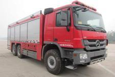 天河牌LLX5254TXFGF60/B型干粉消防车图片