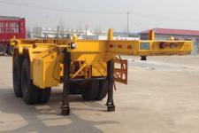 梁山扬天牌SDB9350TJZ型集装箱运输半挂车图片