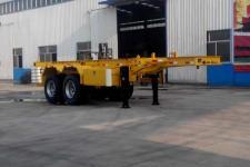 梁郓牌SLY9352TJZ型集装箱运输半挂车图片