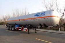 中集13米25.2吨3轴液化气体运输半挂车(NTV9403GYQQ)