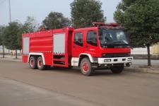 江特牌JDF5242GXFSG110型水罐消防车
