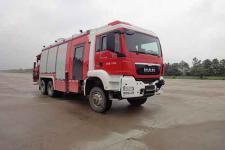 永强奥林宝牌RY5221TXFJY200/B型抢险救援消防车图片