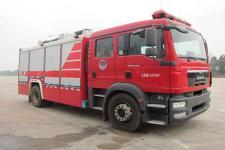永强奥林宝牌RY5171GXFAP40/D型A类泡沫消防车图片