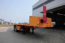 闽兴牌FM9351ZZXP型平板自卸半挂车